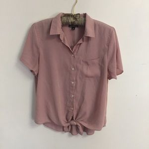 J. Crew Mercantile Soft Pink Shirt